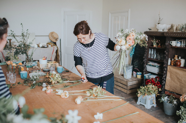 Wonderfully creative Wild Bunch flower workshops, image Lisa Webb Photography (24)