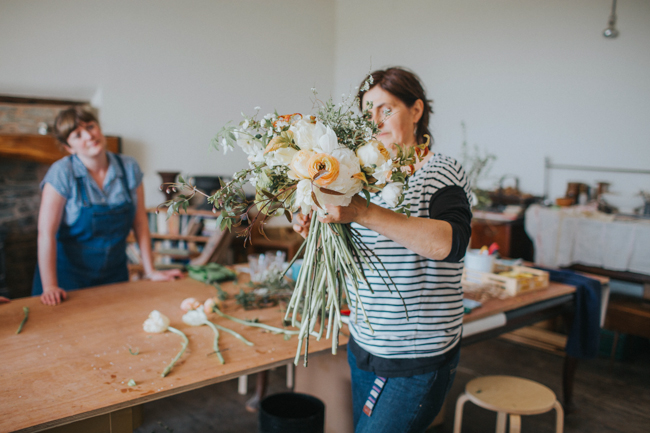 Wonderfully creative Wild Bunch flower workshops, image Lisa Webb Photography (25)