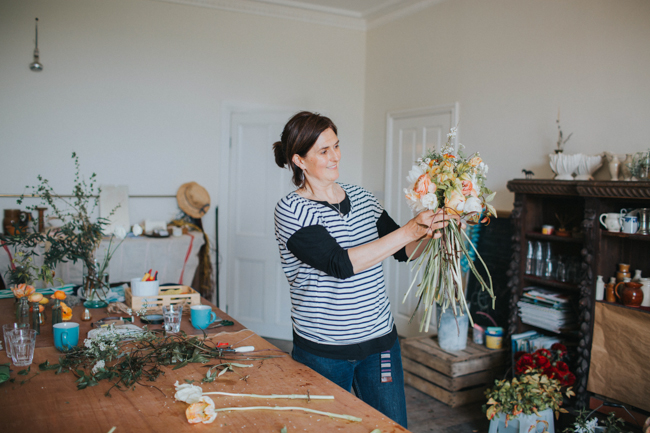 Wonderfully creative Wild Bunch flower workshops, image Lisa Webb Photography (26)