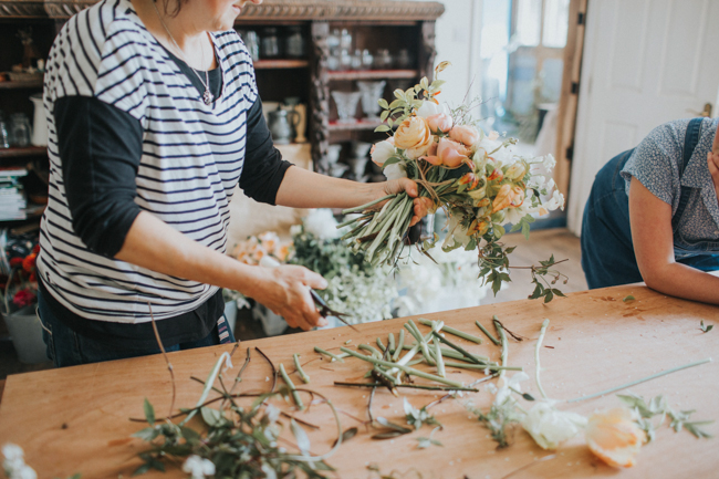 Wonderfully creative Wild Bunch flower workshops, image Lisa Webb Photography (27)