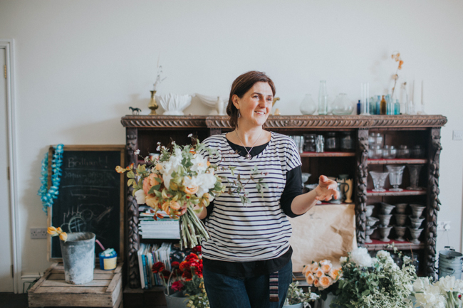 Wonderfully creative Wild Bunch flower workshops, image Lisa Webb Photography (28)