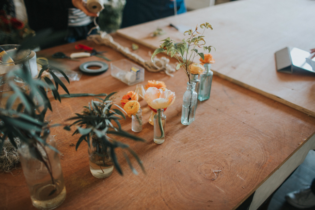 Wonderfully creative Wild Bunch flower workshops, image Lisa Webb Photography (4)