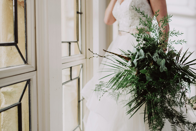 Chic botanical wedding style inspiration on the English Wedding Blog. Image credit New Forest Studio (8)
