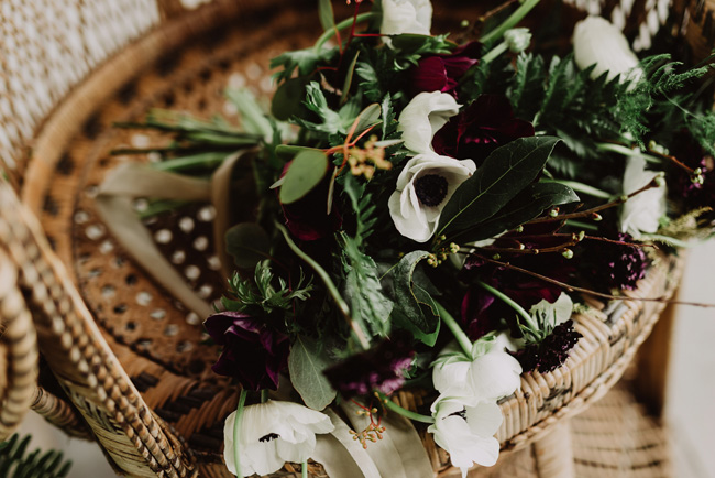 Chic botanical wedding style inspiration on the English Wedding Blog. Image credit New Forest Studio (21)