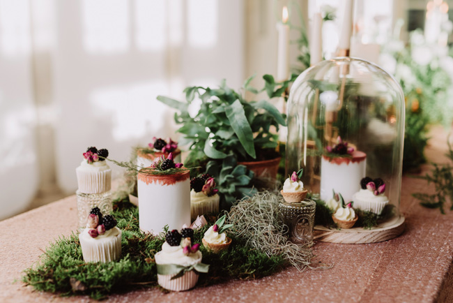 Chic botanical wedding style inspiration on the English Wedding Blog. Image credit New Forest Studio (28)
