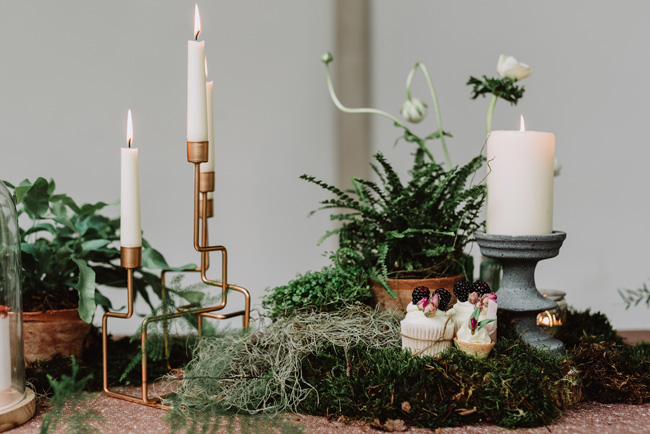 Chic botanical wedding style inspiration on the English Wedding Blog. Image credit New Forest Studio (29)