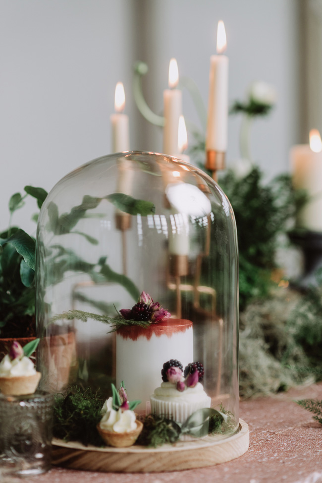 Chic botanical wedding style inspiration on the English Wedding Blog. Image credit New Forest Studio (30)