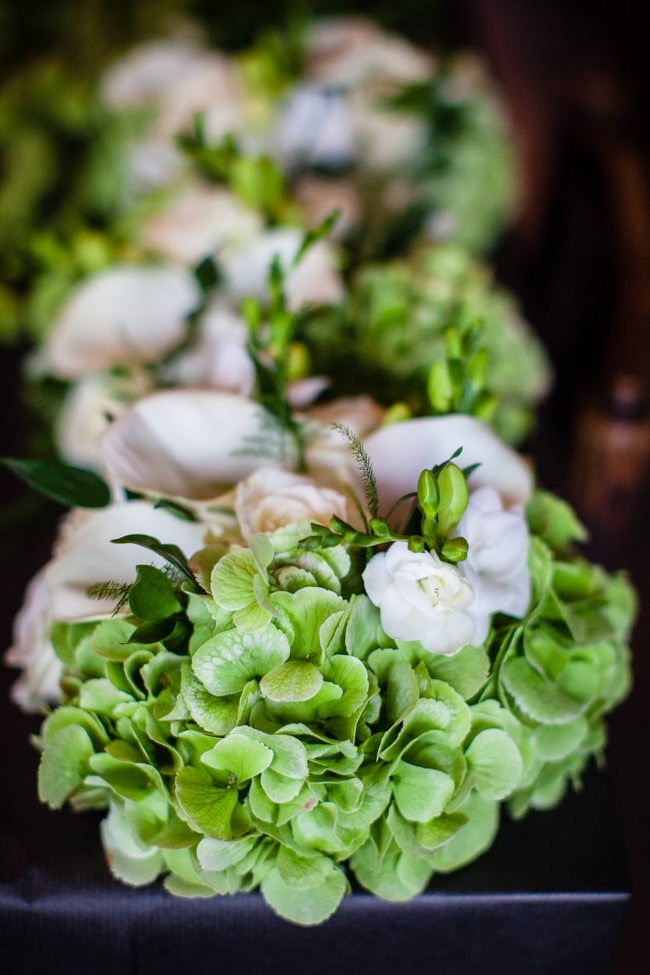 Gold styling accents and a fabulously tumbling green bouquet - Charlotte Giddings Photography (4)