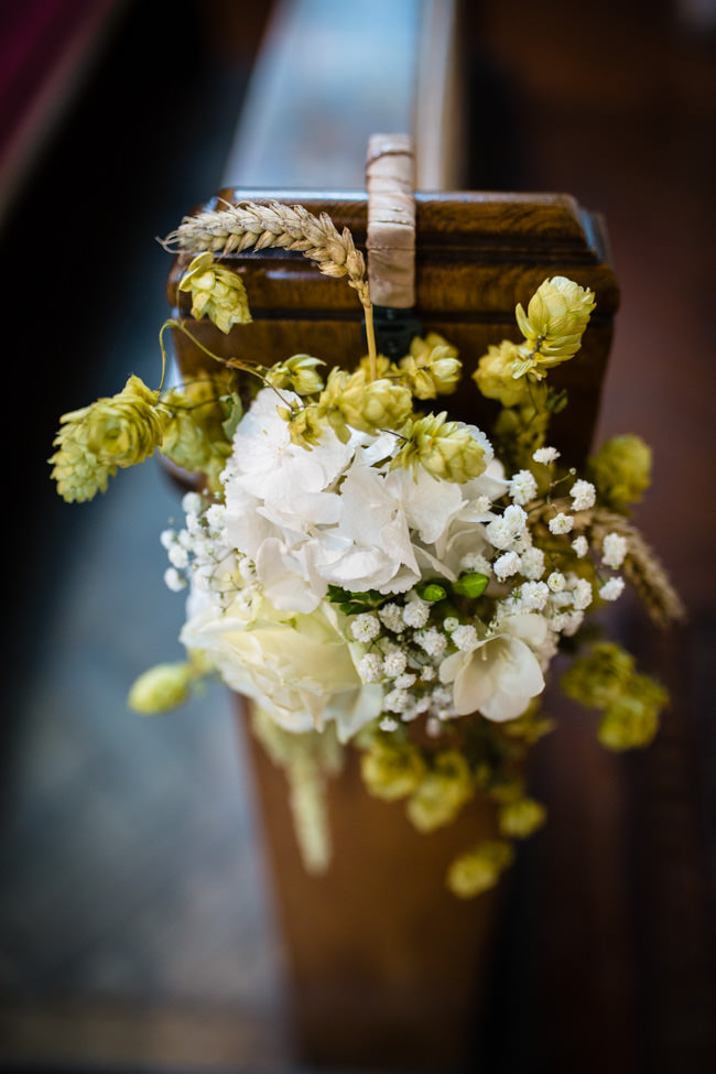 Gold styling accents and a fabulously tumbling green bouquet - Charlotte Giddings Photography (10)