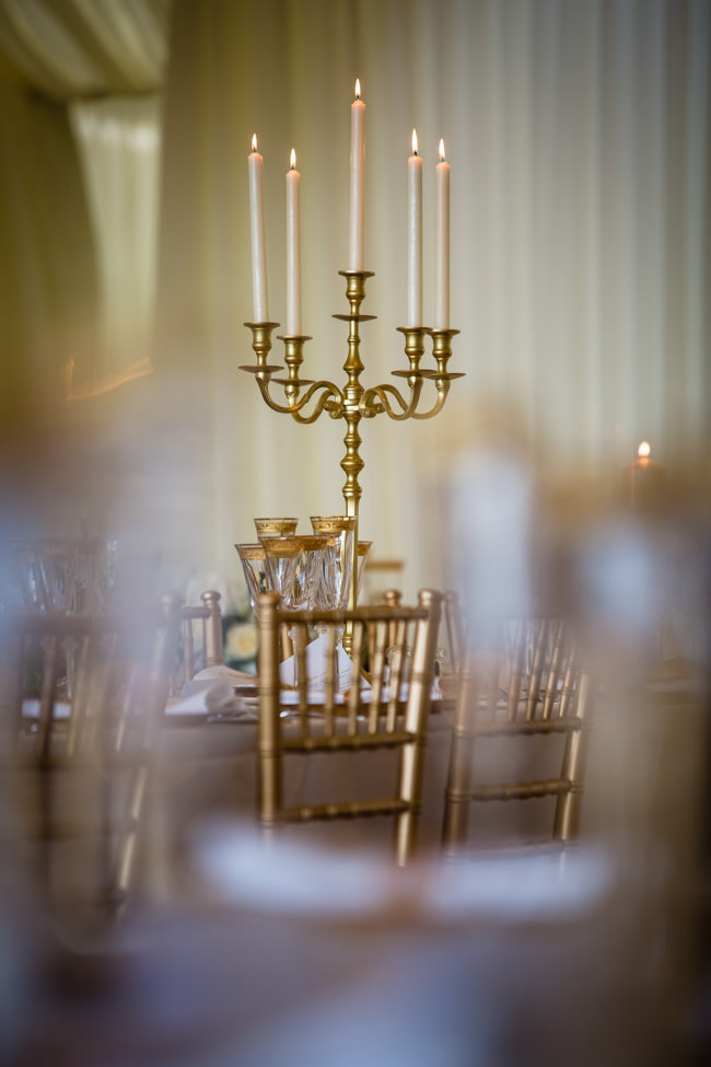 Gold styling accents and a fabulously tumbling green bouquet - Charlotte Giddings Photography (20)
