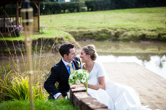 Gold styling accents and a fabulously tumbling green bouquet - Charlotte Giddings Photography (27)