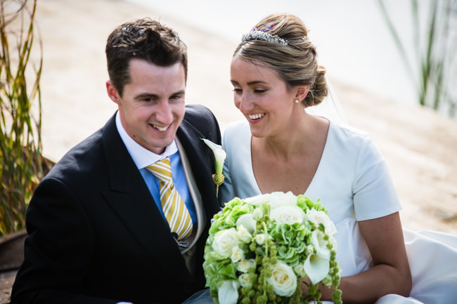 Gold styling accents and a fabulously tumbling green bouquet - Charlotte Giddings Photography (29)