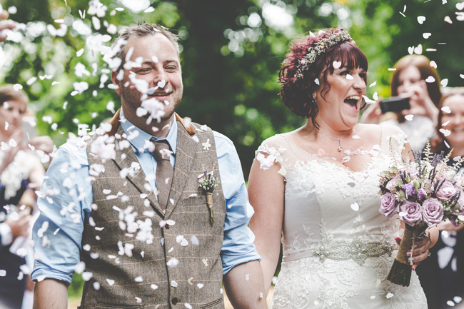 Relaxed, fun barn wedding in Derbyshire - images by Sally Eaves Photography (10)
