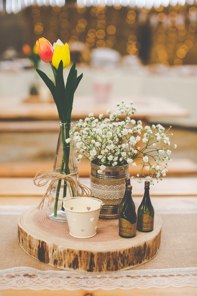Relaxed, fun barn wedding in Derbyshire - images by Sally Eaves Photography (12)