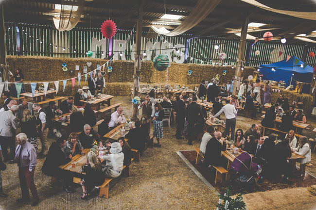 Relaxed, fun barn wedding in Derbyshire - images by Sally Eaves Photography (23)
