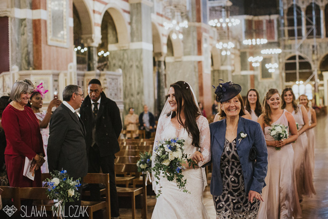 Gorgeous blues and a spectacular venue for Joanna and Cajetan's Westminster wedding, Image by Slawa Walczak (8)