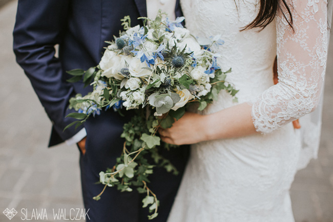 Gorgeous blues and a spectacular venue for Joanna and Cajetan's Westminster wedding, Image by Slawa Walczak (17)