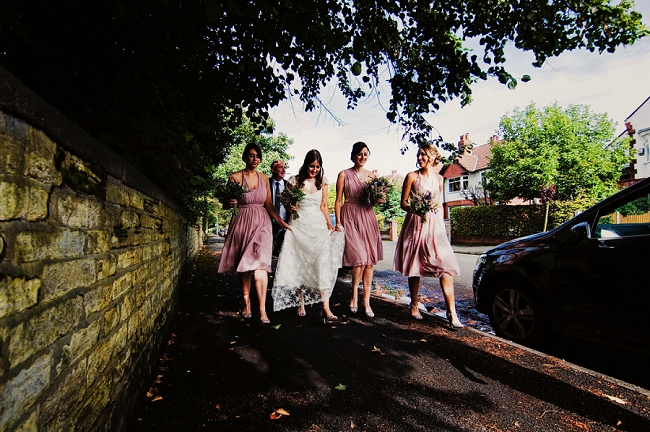 Garden party with a modern twist for a chic English wedding blog in Manchester with ZT Photography (4)