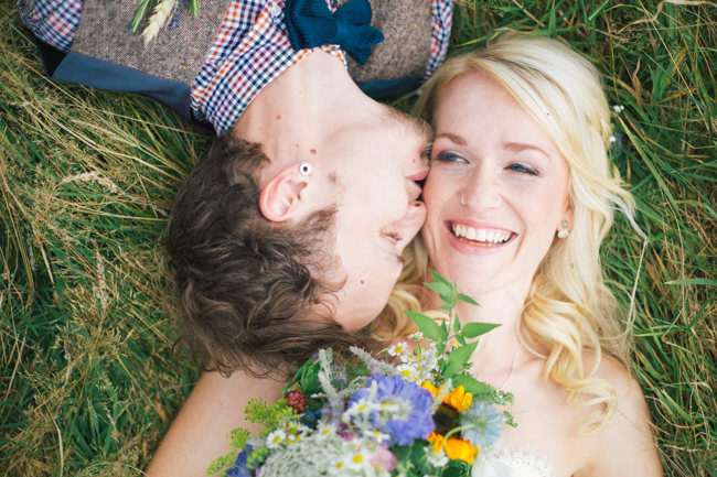 A fabulous summer wedding with cider and scarecrows! Emma Stoner Weddings (26)