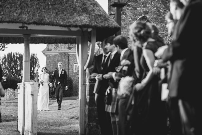 Elegant bridal style and a fun, relaxed Oak Barn wedding in beautiful Devon. Image by Lee Maxwell Photography (11)