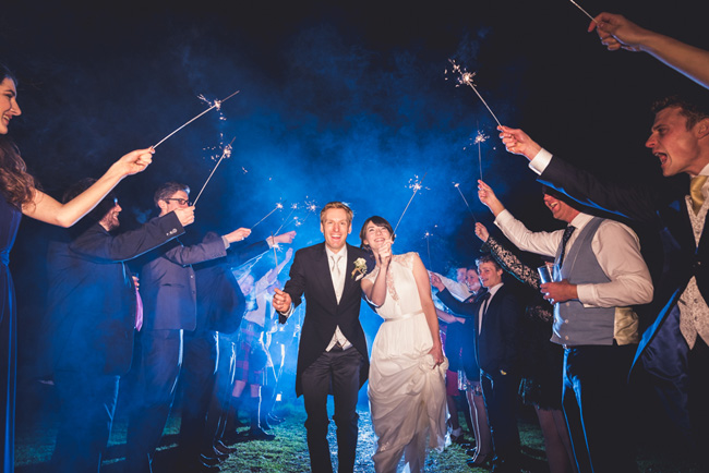 Elegant bridal style and a fun, relaxed Oak Barn wedding in beautiful Devon. Image by Lee Maxwell Photography (27)