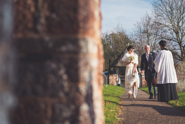 Elegant bridal style and a fun, relaxed Oak Barn wedding in beautiful Devon. Image by Lee Maxwell Photography (6)