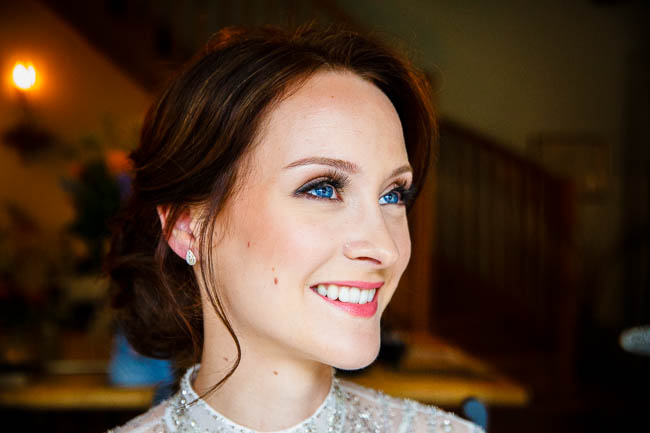 Gorgeous styling and a beautiful wedding dress for a Rotherwick Village Hall wedding. Images by Stylish Wedding Photography (7)