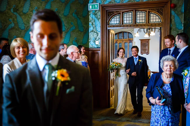 Gorgeous styling and a beautiful wedding dress for a Rotherwick Village Hall wedding. Images by Stylish Wedding Photography (13)