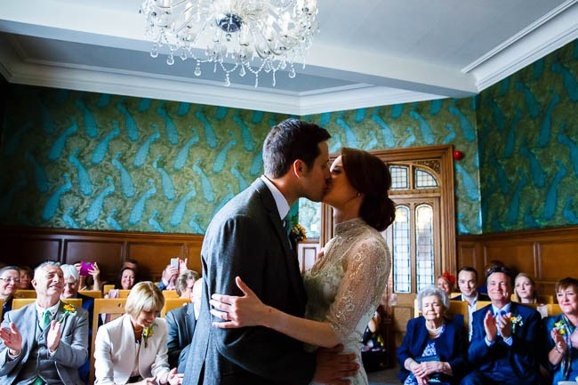 Gorgeous styling and a beautiful wedding dress for a Rotherwick Village Hall wedding. Images by Stylish Wedding Photography (16)