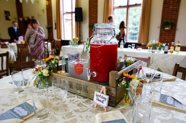 Gorgeous styling and a beautiful wedding dress for a Rotherwick Village Hall wedding. Images by Stylish Wedding Photography (22)