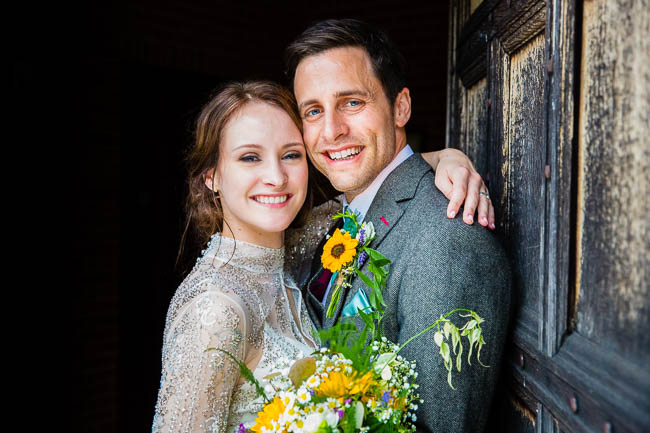 Gorgeous styling and a beautiful wedding dress for a Rotherwick Village Hall wedding. Images by Stylish Wedding Photography (24)