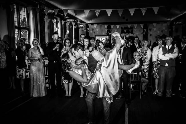 Gorgeous styling and a beautiful wedding dress for a Rotherwick Village Hall wedding. Images by Stylish Wedding Photography (27)