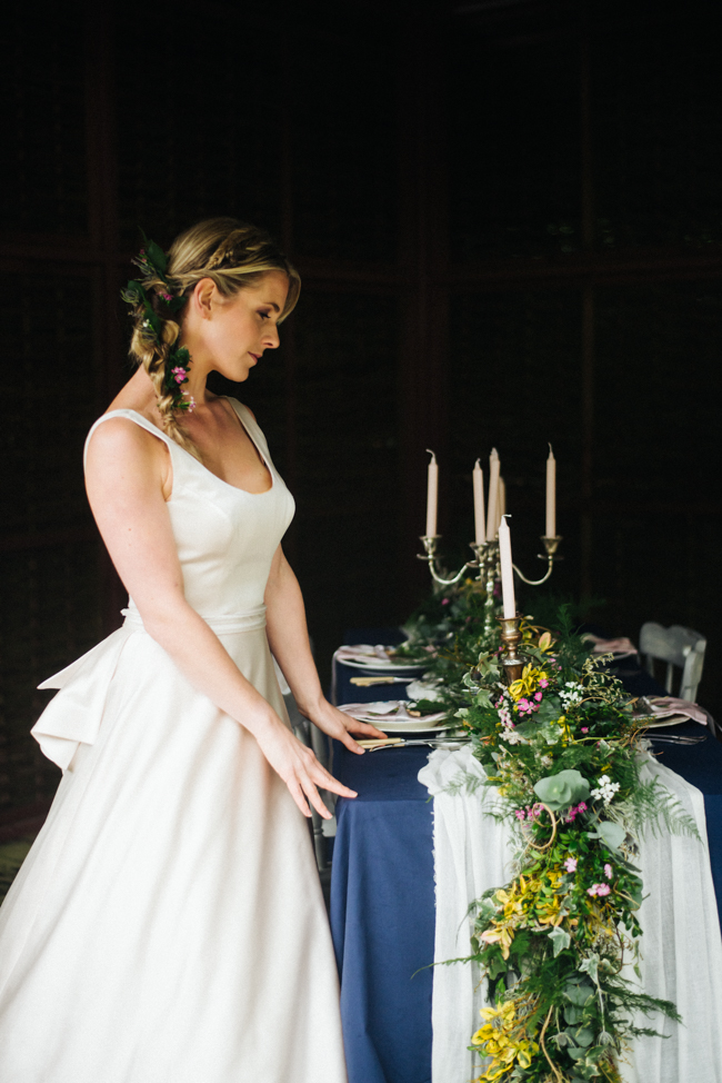 Wonderful British flowers for a Cornish wedding inspiration shoot at Tregothnan with Olivia Bossert Photography (17)