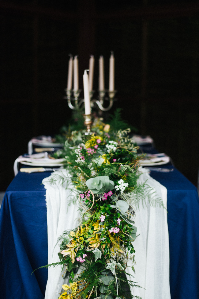 Wonderful British flowers for a Cornish wedding inspiration shoot at Tregothnan with Olivia Bossert Photography (7)