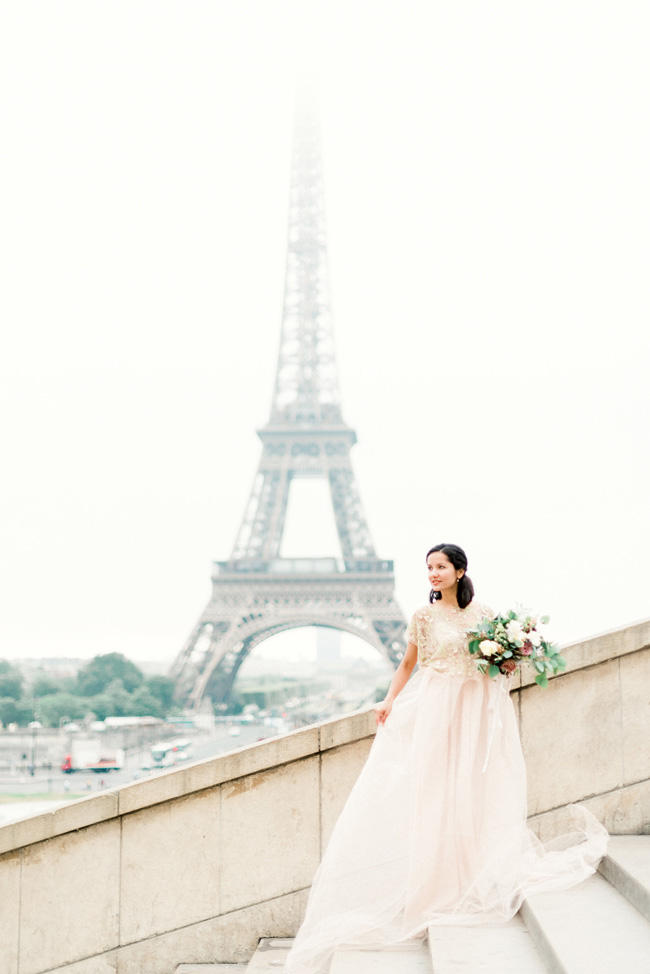 Romance and sunshine in Paris - a beautiful elopement story with Victoria JK Lamburn Photography (11)