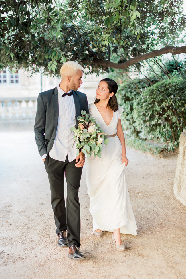 Romance and sunshine in Paris - a beautiful elopement story with Victoria JK Lamburn Photography (22)