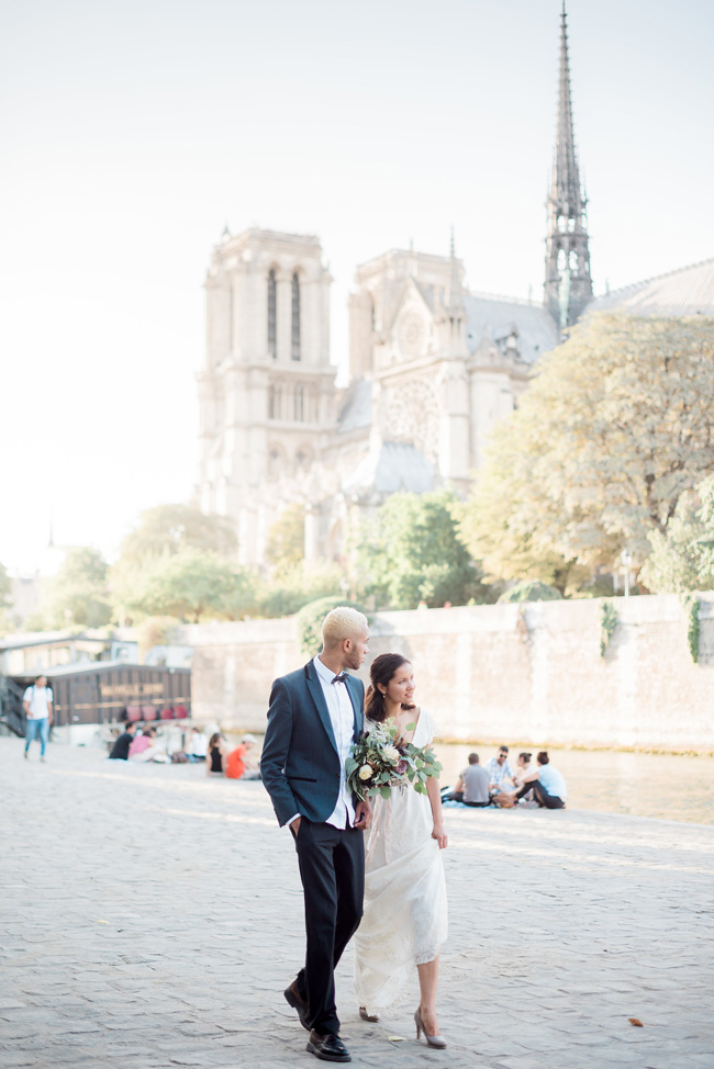 Romance and sunshine in Paris - a beautiful elopement story with Victoria JK Lamburn Photography (28)