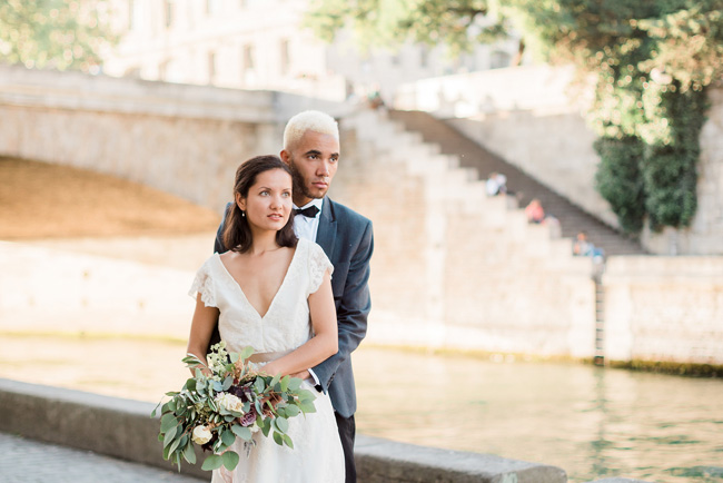 Romance and sunshine in Paris - a beautiful elopement story with Victoria JK Lamburn Photography (29)