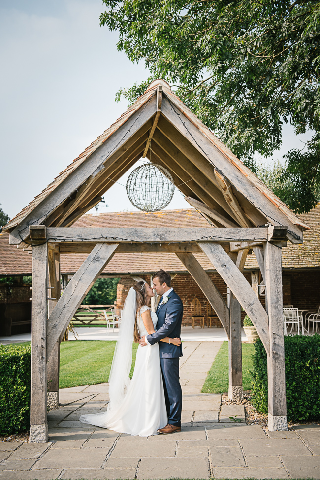 A prettily decorated elegant barn wedding in Kent with Penny Young Photography (38)