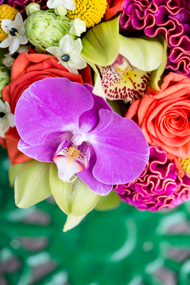Tropical wedding inspiration at Skylark Country Club with VeVi Photography (1)