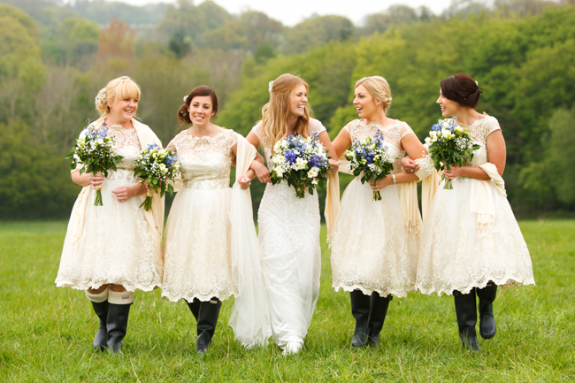 Natural, rustic wedding in bluebell woods at Fern and Field with Perceptive Photography (6)