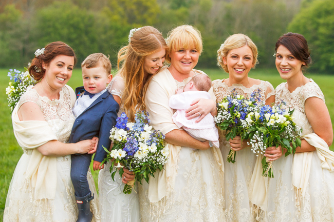 Natural, rustic wedding in bluebell woods at Fern and Field with Perceptive Photography (9)