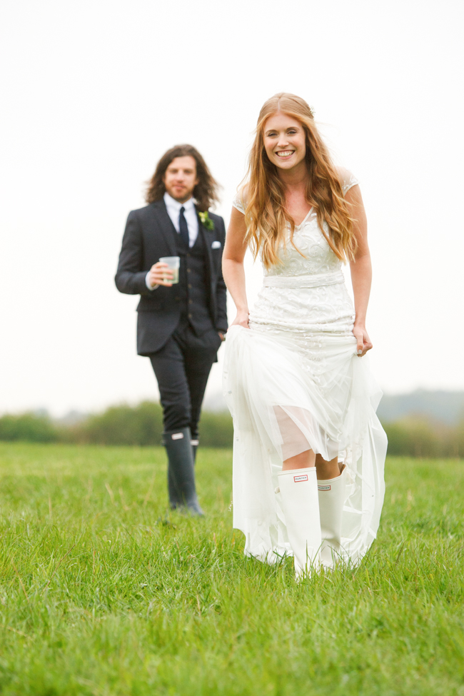 Natural, rustic wedding in bluebell woods at Fern and Field with Perceptive Photography (11)