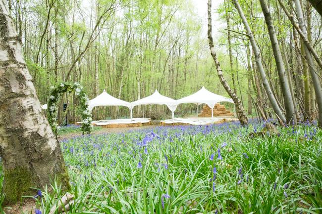 Natural, rustic wedding in bluebell woods at Fern and Field with Perceptive Photography (22)