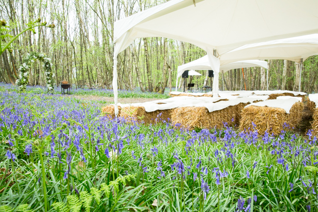 Natural, rustic wedding in bluebell woods at Fern and Field with Perceptive Photography (24)