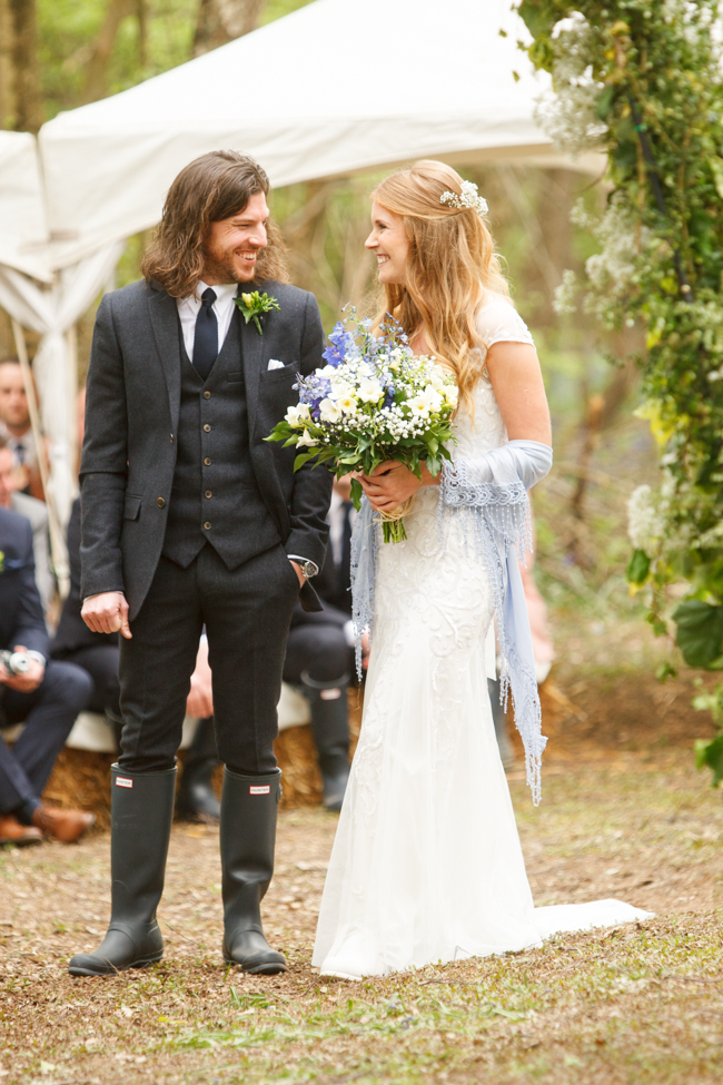 Natural, rustic wedding in bluebell woods at Fern and Field with Perceptive Photography (27)