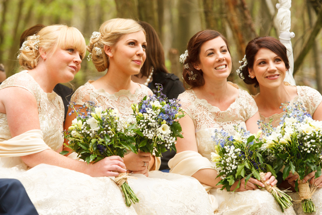 Natural, rustic wedding in bluebell woods at Fern and Field with Perceptive Photography (30)