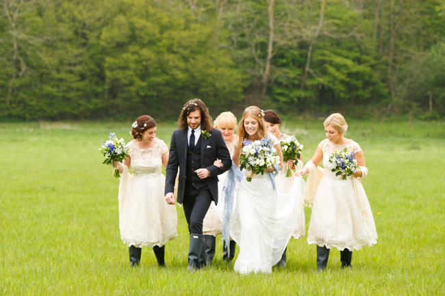 Natural, rustic wedding in bluebell woods at Fern and Field with Perceptive Photography (37)