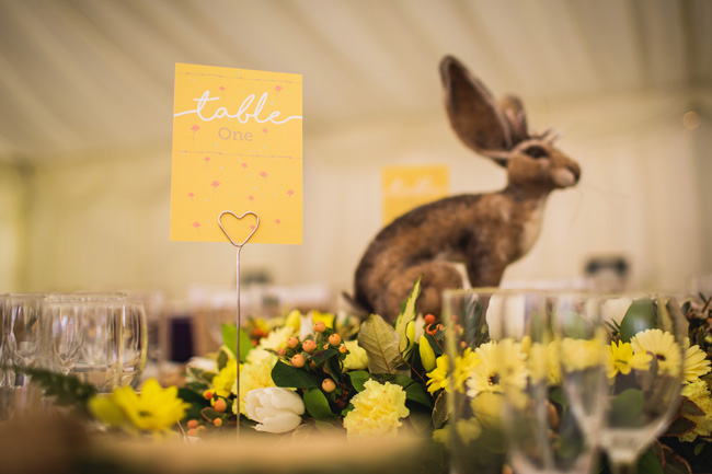Bright and interesting Easter wedding tables with character on the English Wedding Blog (10)