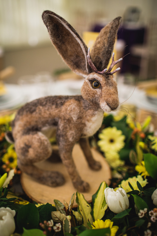 Bright and interesting Easter wedding tables with character on the English Wedding Blog (18)